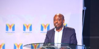GOtv General Manager Simon Kariithi speaking at the Local Content Summit in Nairobi