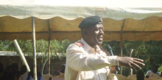 Lugari location Chief Evans Adavaji