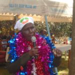 Mrs. Irene Murunga during her homecoming party