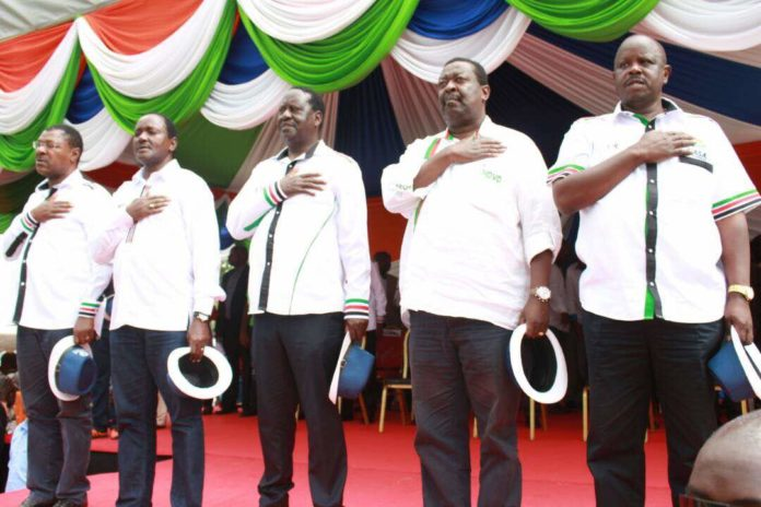 NASA leaders have voiced their pleasure with the date set by IEBC for election
