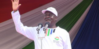 NASA leader Raila Odinga has reproved the state and defended Jimi Wanjigi after officers raided his home in Muthaiga, Nairobi