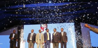 NASA principals during the Manifesto launch
