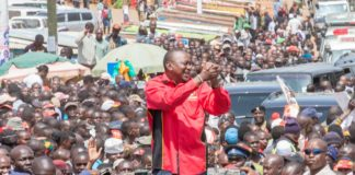 President Uhuru Kenyatta is currently visiting Counties in Western region, South Nyanza, including Kisii, Nyamira and is set to tour Trans Nzoia and Uasin Gishu Counties