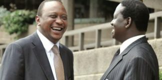 President Uhuru Kenyatta still has a higher approval rating than NASA Presidential candidate Raila Odinga according to Infotrak opinion poll