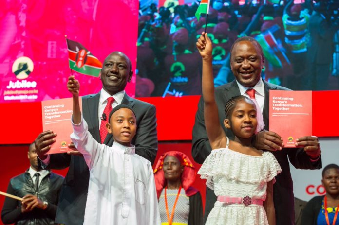 The Jubilee Manifesto is anchored on three main pillars, namely Transforming Lives, Transforming Society, and Transforming the Nation