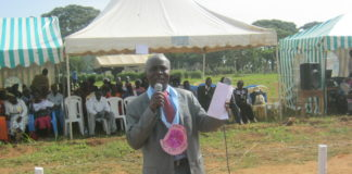 Tongaren Sub County Education Director Williams Kamuguna