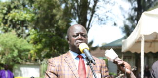 Trans Nzoia Governor Patrick Khaemba. FILE PHOTO