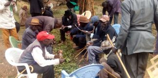 The elders were drawn from three Counties and the neighbouring Uganda