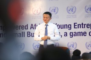 Alibaba Group founder and executive chairman Jack Ma at Nailab (CREDIT.Nailab)