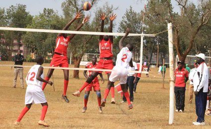 Malava Boys High school eliminated Cheptil Boys to qualify for the boys' volleyball finals