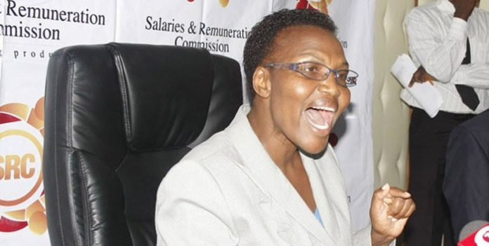 Salaries and Remuneration Commission (SRC) Chair Sarah Serem has announced a new salary structure for state officers