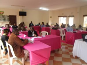 Some of the participants during a health stakeholders meeting at Homelady Guest house