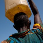 The borehole drilled by the government in Pokot North Sub County in West Pokot is set to alleviate water access problems