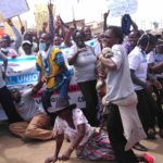 Nurses demonstrate in Makutano town