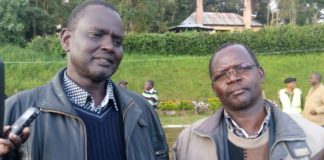 KANU leaders Samuel Poghisio and John Lonyangapuo