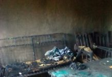 The family incurred huge loses as a result of the fire