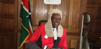 Chief Justice David Maraga led the team that made the verdict