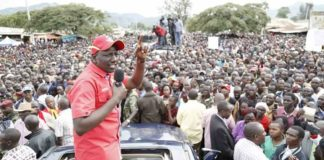 Deputy President William Ruto has insisted elections should be held on 17th October