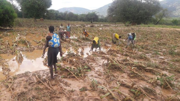 Heavy downpour caused havoc in Riwo Ward, West Pokot County