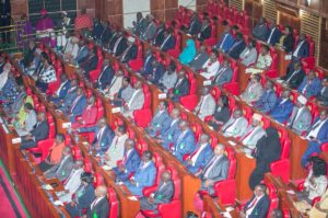 President Kenyatta has urged members of parliament to work together to serve Kenyans