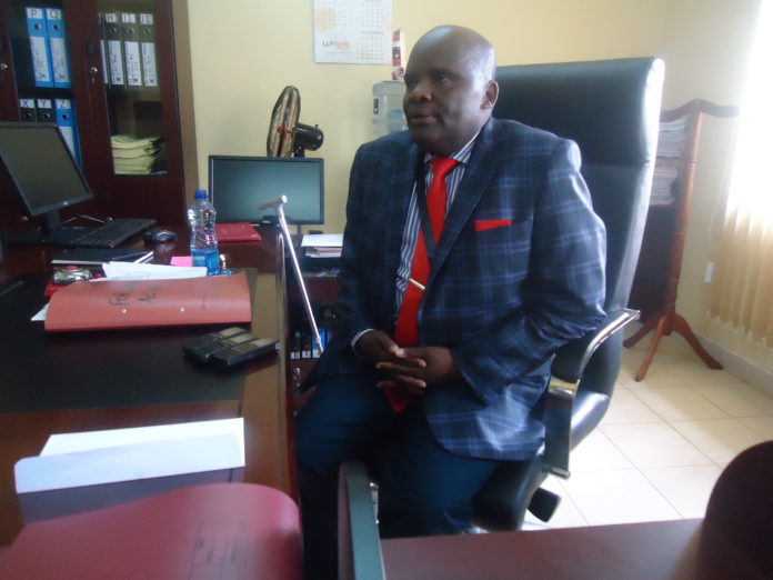 Vihiga County Assembly Clerk Ambaka Kilinga (pictured) had to halt the process after receiving the Court order