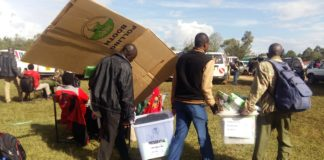 West Pokot County repeat presidential poll results have been released