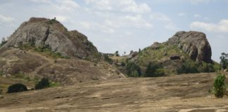 The County government of Kakamega has been urged to harness tourist sites, like the the Mawe Tatu hills (pictured)