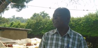 Livestock production officer Mr. Sipenji Bonix Lusambo