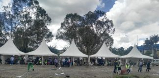 There was an evident low voter turnout at the NSSF grounds in Nairobi
