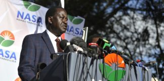 NASA leader Raila Odinga has criticized the repeat poll's electoral process