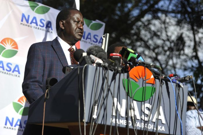 NASA have withdrawn from the repeat polls, with Raila Odinga citing persistent flaws at IEBC among other reasons