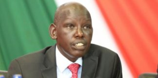 Education PS Belio Kipsang. FILE PHOTO