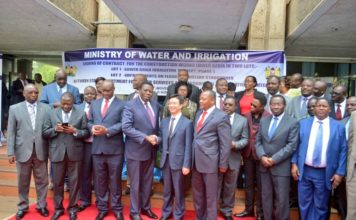 Leaders from Western Kenya were present during the function at Maji House in Nairobi