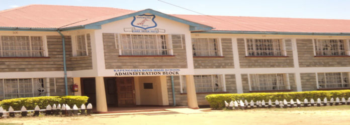 West Pokot KNUT Executive Secretary Martin Sembelo lauded schools that performed well in the 2017 KCSE, including Kapenguria Boys High School