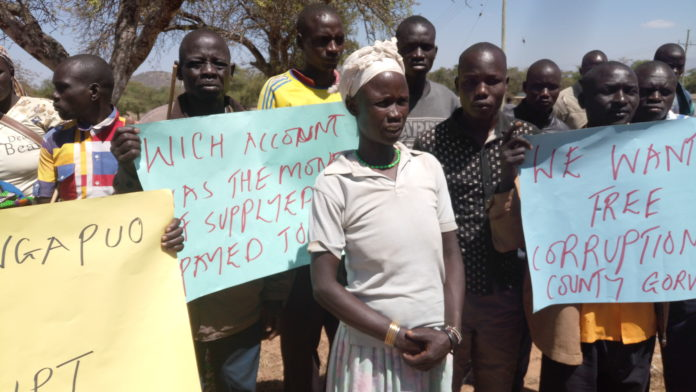 Kacheliba residents accused the County government of neglecting local farmers