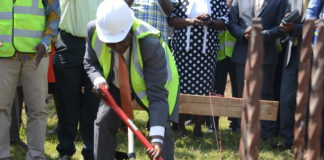 Vihiga County Governor Dr. Wilber Otichilo during the launch