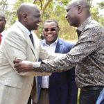 Deputy President Ruto has pledged to work together with Bungoma Governor Wangamati to develop Bungoma County