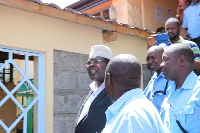 Miguna Miguna was arraigned in a Court in Kajiado