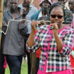 Nandi Deputy Governor Yulita Cheruiyot in a past function