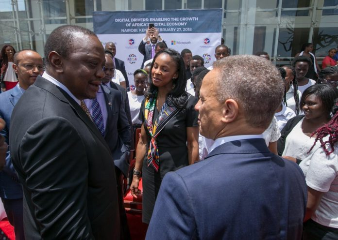 President Uhuru Kenyatta has underscored the importance of technology in achieving the Big Four Agenda