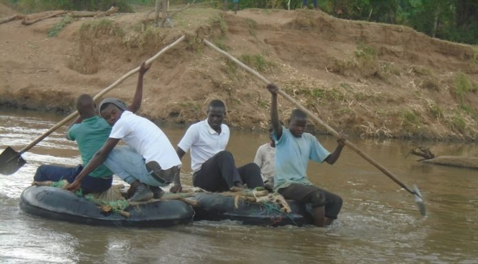 Residents have urged leaders to construct a bridge to ease transportation