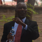 The Chairman of the Luhya Council of Elders Dr. Charles Lunge who is also Dean of students in the Department of Medicine at Masinde Muliro University of Science and Technology