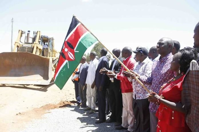 Deputy President William Ruto was speaking at Kishaunet in West Pokot County after launching the tarmacking of Makutano-Kacheliba road