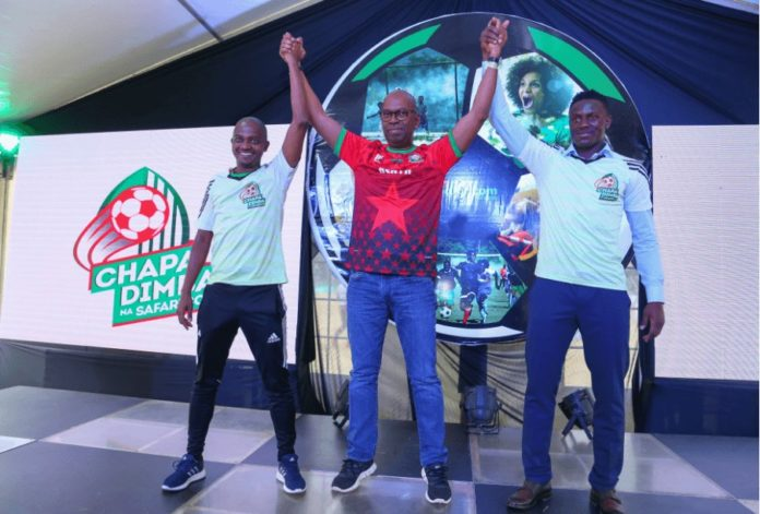 The eventual winners of the Chapa Dimba Na Safaricom tournament in each category will receive KSh 1 million and will meet Tottenham Hotspur midfielder and Kenyan international Victor Wanyama (right) in London