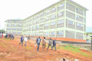 The Proposed University college is constructed on 72.6 acre piece of land