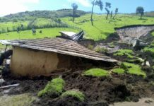 The effects of the heavy rains have been seen in different parts of the country