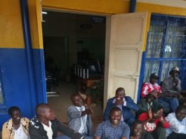 Kapenguria residents camped at KPLC offices as they voiced their complaints
