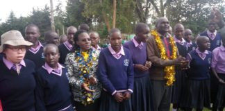 West Pokot first lady Dr. Mary Lonyangapuo has urged parents to register children who are living with disabilities