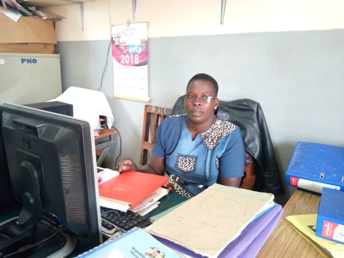 The Sub County Health Promotion Officer in charge of schools health Mrs. Sheila Kiptun when she spoke to the media
