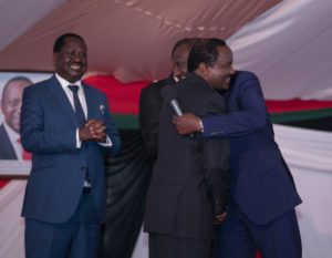 The leaders set aside their differences as the path of peace and unity becomes clearer